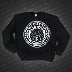 Wreath Black Crewneck