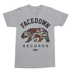 Tattoo Bear Heather Grey                                                  TeeSale                                  Merch
