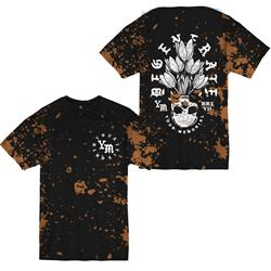 *Limited Stock* Degenerate Black W/ Bleach