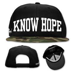 Know Hope Black/Camo Snapback