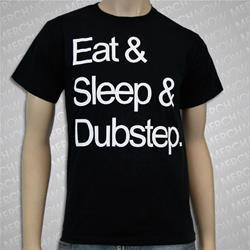 Eat Sleep Dubstep Black