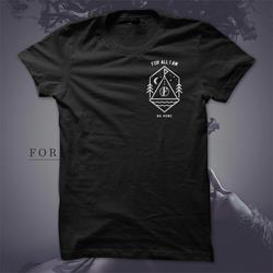 No Home Tipi Black T-Shirt