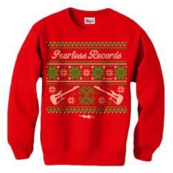 Ugly Christmas Sweater Red Crewneck Sweatshirt