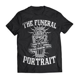 The Funeral Portrait Coffin Black T-Shirt