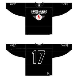 Juggalo 17 Black Hockey Jersey