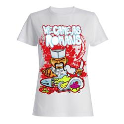 Sushi White Juniors Tee