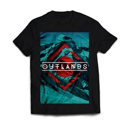 Mountain Black T-Shirt