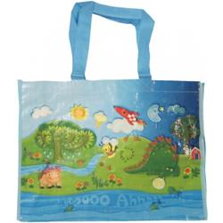 Playtime Light Blue Tote Bag