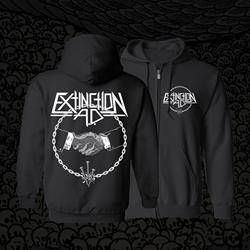 Extinction AD Nails Circle Pocket Logo Black