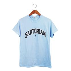 Sartorian Arched Logo Light Blue