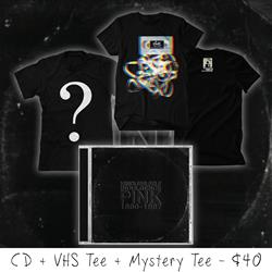 Pink CD / VHS Tee / MYSTERY TEE Bundle