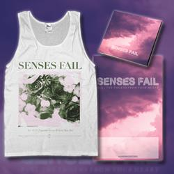Pull The Thorns From Your Heart CD + Flower Tank Top + Poster