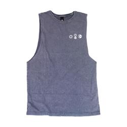 Sun.Human.Moon Stone Sleeveless T-Shirt