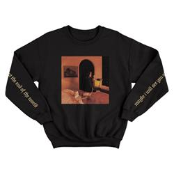End Of The World Black Crewneck