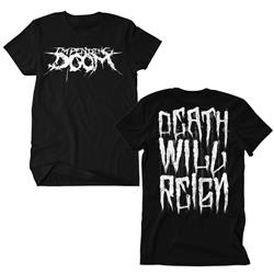 Death Will Reign Logo Black T-Shirt