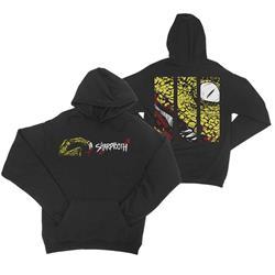Scratch Black Pullover Sweatshirt