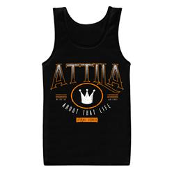 *Limited Stock* Atlanta Crown Black Tank Top