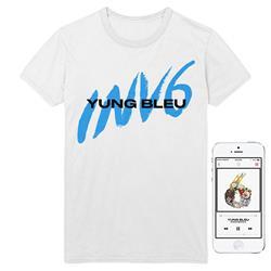 INV6 White T-Shirt + Album Digital Download