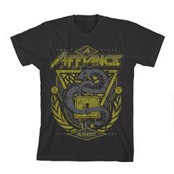 Snake Black T-Shirt