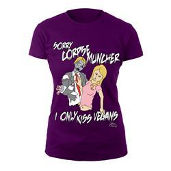 Zombie Rejection Purple Girl Shirt
