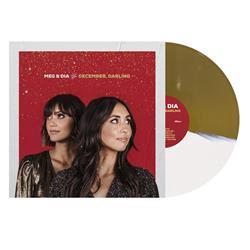 Meg & Dia December, Darling  Half White / Half Gold