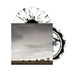 Self Titled Transparent Cloudy Clear W/ Opaque Grey,Black, Cream Splatter