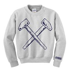 Hammers Heather Grey Crewneck