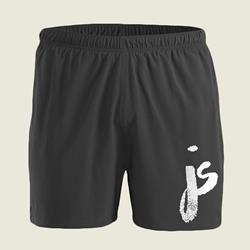 JS Logo Black Shorts