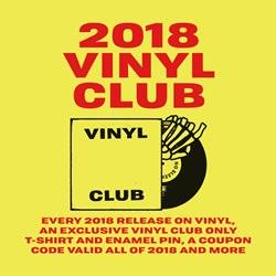 2018 Vinyl Subscription Club
