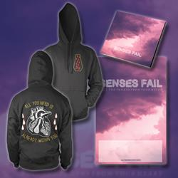 Pull The Thorns From Your Heart CD + Heart Pullover Hoodie + Poster