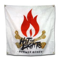 Summer Bones Wall Flag