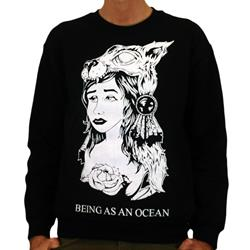 Being As An Ocean - Wolf Girl Black Crewneck