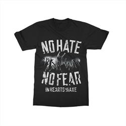 No Hate Black T-Shirt