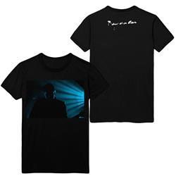 Being As An Ocean - Blue Light Black T-Shirt