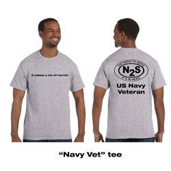 Navy Vet Heather Grey