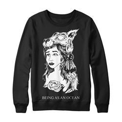 Being As An Ocean - Wolf Girl Black Crewneck
