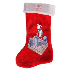 Robot DJ  Christmas Stocking