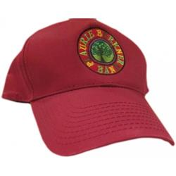 Band Logo Red Snapback Hat
