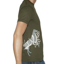 Side-Print Logo Army Green