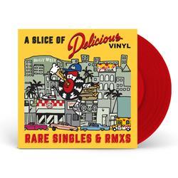 A Slice Of Delicious Vinyl: Rare Singles & Rmxs Red