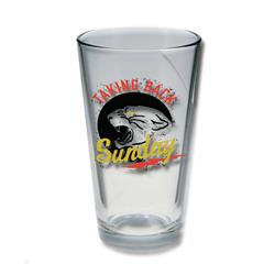 Panther Pint Glass