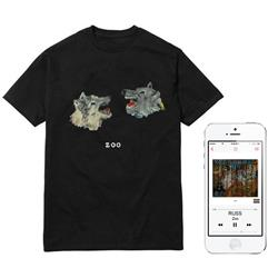 Wolf Heads T-Shirt + Digital Album