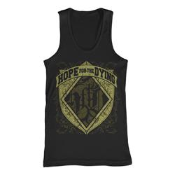 Logo Crest Black Tank Top *Final Print* $6 Sale