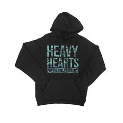 Heavy Hearts Black Hooded