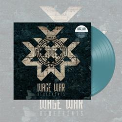 Wage War - Blueprints Transparent Sea Blue Vinyl