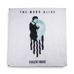 Violent Noise  40X40 Custom Wall Flag