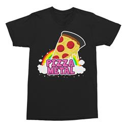 Pizza Rainbow Black