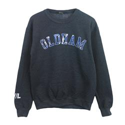 Oldham Dark Heather Crewneck