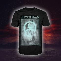Water Crest Black T-Shirt