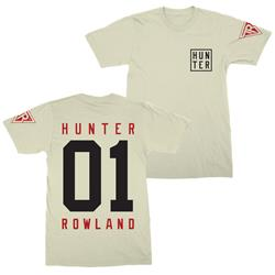 TMRW Logo Hunter White